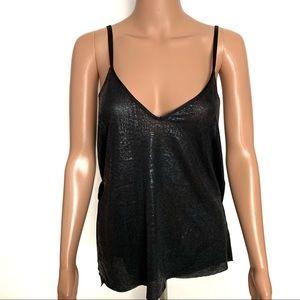 NWT Zara Black Wrap top Cami
